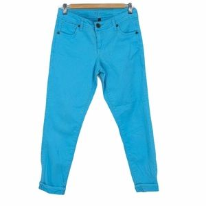Kut from the kloth bright blue ankle length jeans